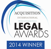Overall Law Firm of the Year 2014 - Acquisition International Law Awards