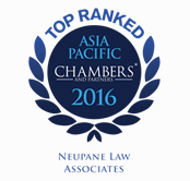 Band-1 Ranked Law Firm in Nepal - Chambers & Partners 2016