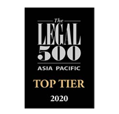 The Legal 500 Asia-Pacific 2020