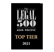 The Legal 500 Asia-Pacific 2021